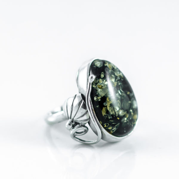 Green Amber Ring A3A2