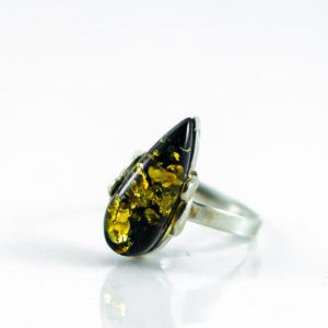 Green Amber Ring A1A48