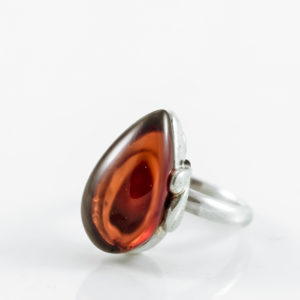 Cherry Amber Ring A1A49