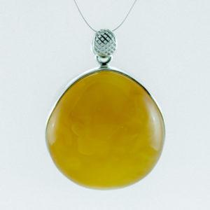 Yellow Amber Pendant A108