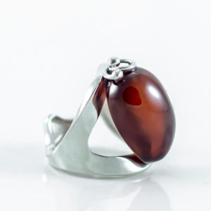 Cherry Amber Ring A1A50