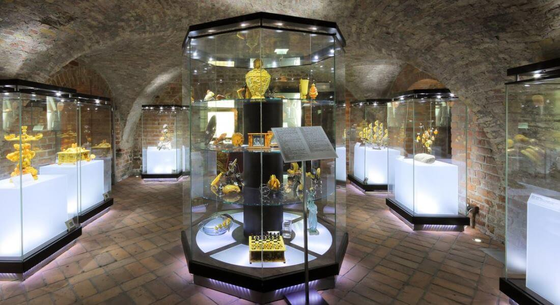 World's capital of amber – Gdańsk and the Amber Museum