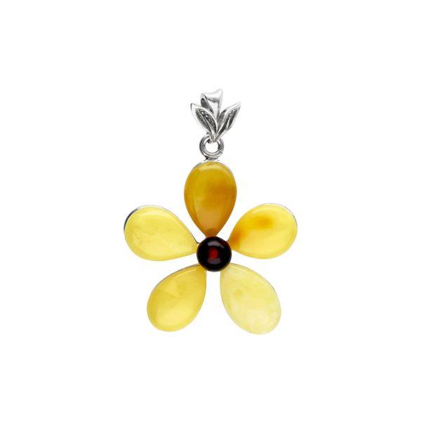 Yellow Amber Pendant A1A95