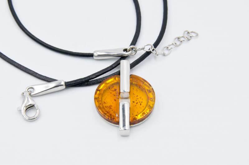 Bursztyn biżuteria bransoletka