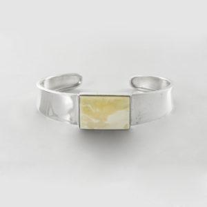 Milky Amber Bracelet A136