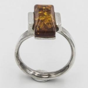 Cognac Amber Ring A1A46