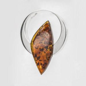 Cognac Amber Pendant A1A04