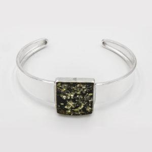 Green Amber Bracelet A1A60