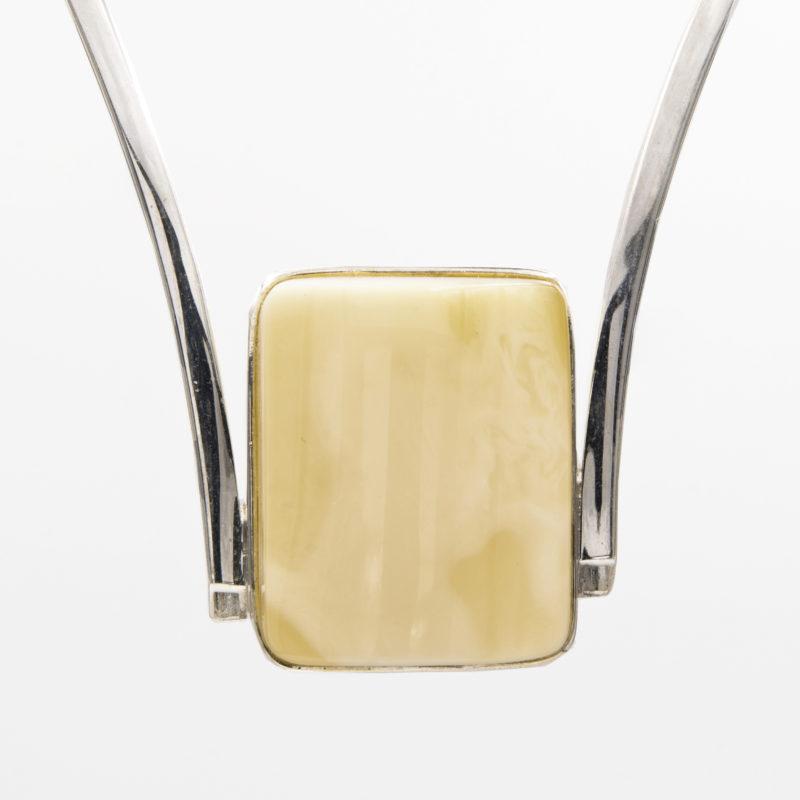 White amber