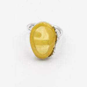 Yellow Amber Ring A1A68