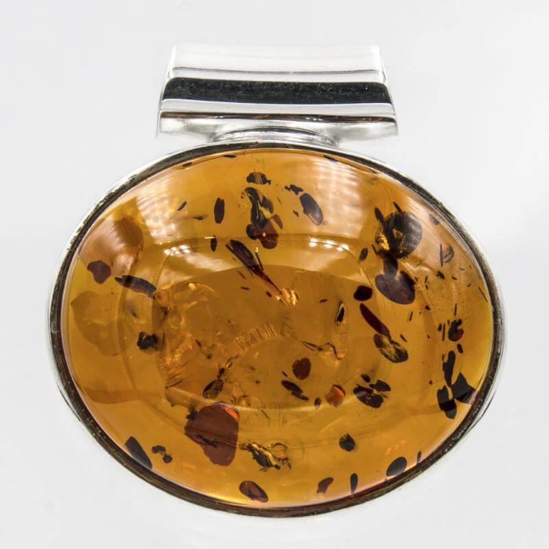 Biżuteria z bursztynem naszyjnik Gentarus